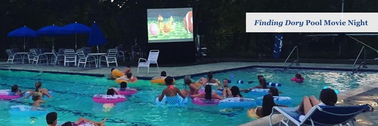 Kids Pool Movie Night